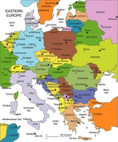 eastern Europe Map Quiz Diagram #europemap #europemap #europemapart #europemapillustration #europemapprintable #europemaptravel Eastern Europe Map, World Map Europe, World Map With Countries, Europe Map Printable, Free Printable World Map, Map Quiz, Belgium Germany, World Geography, Geography Map