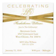 elegant birthday party invitations zazzle Birthday Invitations the Template Design 2019 75th Birthday Parties, 85th Birthday, Fiftieth Birthday, Birthday Ideas, Birthday Gifts, Birthday Celebration, Birthday Cards, Fifty Birthday, Free Birthday