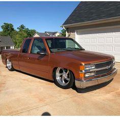 trucks and cars Bagged Trucks, Trucks Only, Lowered Trucks, Gm Trucks, 1998 Chevy Silverado, 85 Chevy Truck, Obs Truck, Chevy 4x4, Custom Pickup Trucks