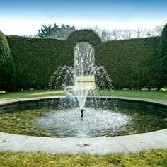 The Old Manor - kate & tom's - The Big Cottage Company - garden fountain at The Old Manor in Dorchester, Dorset
