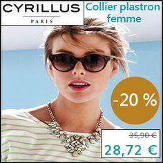 #missbonreduction; Economisez 20 % sur le Collier plastron femme chez Cyrillus. http://www.miss-bon-reduction.fr//details-bon-reduction-Cyrillus-i228-c1828949.html