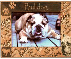 Dog Breed Photo Frame - Bulldog