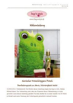 e-book waschlappen frosch
