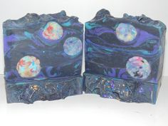 Cosmic Whirl Soap 4.5-5 oz by 3SonsSoapery on Etsy