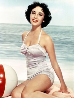 Instant Classic: Pinup Suits  Retro-shaped swimwear shows its sea legs once again. By Emily Layden