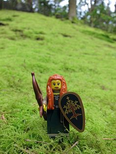 LEGO Collectible Minifigures Series 9 : Forest Maiden