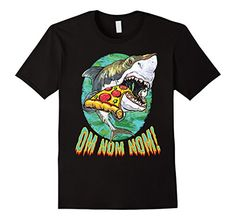 Holiday Sale Save Three Bucks on This Awesome Pocket Design T-Shirt Now! Men's MudgeWare Great White Shark Pizza Gift T-Shirt ... https://www.amazon.com/dp/B01N79I6PB
