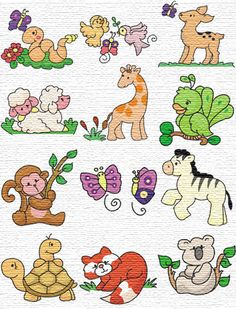 Free Machine Embroidery Designs - 12 Embroidery Designs to Download for Free ZIPfile25 828221 965328