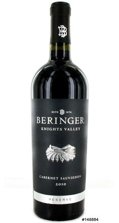 2010 Beringer Cabernet Sauvignon Reserve Knights Valley