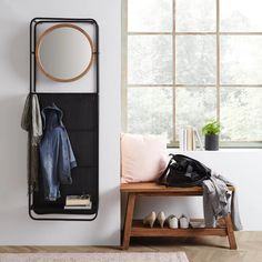 Wandgarderobe Bennet in Schwarz online kaufen ➤ mömax Modern Living, Wardrobe Rack, Furniture, Home Decor, Black, Interior Design, Contemporary Home Design, Home Interior Design, Arredamento