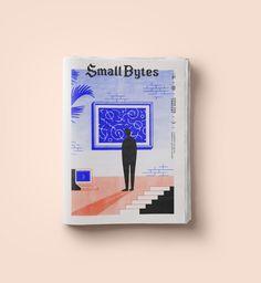 Dribbble smallbytes - Purpose-driven data zine