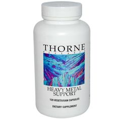 Thorne Research, Heavy Metal Support, 120 Veggie Caps 7800