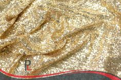 Creative Gold Sequins Glitz linens are the BEST for any event, especially accents for your wedding! www.prestigelinens.com