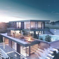 Like thousand times, 39 comments – Amazing Architecture (Diane.architecture …, Like thousand times, 39 comments – Amazing Dream Home Design, Modern House Design, Luxury Modern House, Modern Mansion Interior, Beautiful Modern Homes, Luxury House Plans, Luxury Villa, Amazing Architecture, Architecture Design