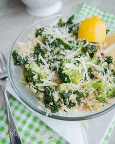Carla's Confections: Kale & Broccoli Quinoa