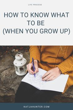 Instead of asking WHAT we want to be when we grow up, a more useful reframe could be to ask WHO do you want to become, or what interests you right now? Learn how to reframe the feared question for most multi-passionate creatives in this post. Just click the link. #destress #simpleliving What Makes You Happy, Are You Happy, Self Development, Personal Development, My First Job, Destress, Personal Goals, When I Grow Up, Business Goals