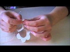 Big Shot | Tutorial Borsette e fiori in pannolenci | DIY Little Felt Bags | Seconda Parte - YouTube