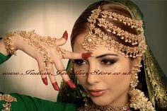 traditional pakistani wedding jewellery - pakeezah jhoomer