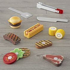 Free Shipping. Shop Melissa and Doug Grilling Set. Serve up the best pretend eats in town with this 20-piece toy grilling set.