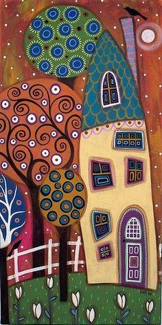 Weiße Tulpen von Karla Gerard: – tranh ve hoc sinh – Kreativ Decoupage, Karla Gerard, House Quilts, White Tulips, Motif Floral, Arte Popular, Naive Art, Whimsical Art, Art Plastique
