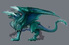 Azure Lightning Dragon by PLSN on DeviantArt