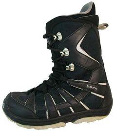size 40 1d9d9 c91f6 Burton Moto Kids USED Snowboard Boots Size 4 Black