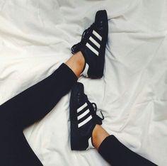 superstars adidas femme noir