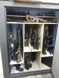 How about a little Custom Gun Safe action. Because the small metal ones they sell in the store.