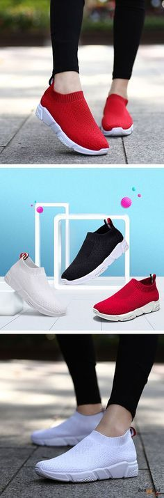 US$30.99 + Free shipping. Size(US): 5~9. Color: Black, Red, White. Upper Material: Fly Weaving. Fall in love with casual and sport style! Summer Sandals, Women Flat Sandals, shoes flats, shoes sandals, Casual, Outdoor, Comfortable.