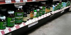 Rainbow Grocery Cooperative in San Francisco has featured Pines products since 1977. #wheatgrass #organic #glutenfree