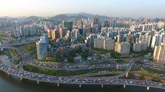 Seoul Drone at Han River