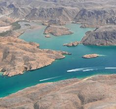 Bandar Khayran Reserve, Muscat, Oman  I use to go camping and boating here.  So beautiful.