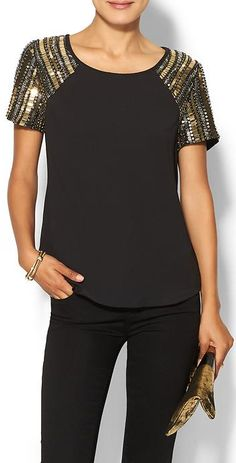 Now trending: Sparkle sleeves http://rstyle.me/~3glMg