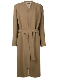 THE ROW Belted Midi Coat. #therow #cloth #coat