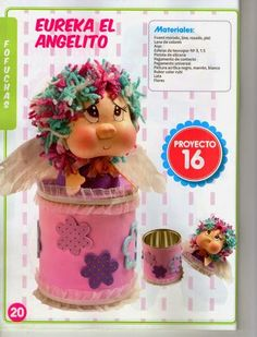 Revistas de manualidades Gratis: Moldes para hacer fofuchas Foam Crafts, Arts And Crafts, Clown Party, Doll Tutorial, Art Plastique, Happy Mothers, Pin Up, Projects To Try, Miniatures