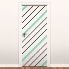 Easy Stripes 2 Pack Mint, $39, now featured on Fab. These are fun!  I'd like to do something similar as an art piece on a gallery wall. Change up the square and rectangle lines for diagonal to break up the pattern!