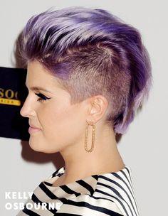 Kelly Osbourne is the undisputed queen of lavender locks!