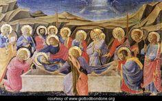 Death of the Virgin - Giotto Di Bondone - www.giottodibondone.org