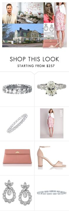 """Hosting her baby shower at Randersgatan with friends and family members"" by swedish-princess ❤ liked on Polyvore featuring L.K.Bennett, Chaumet and Harry Winston"