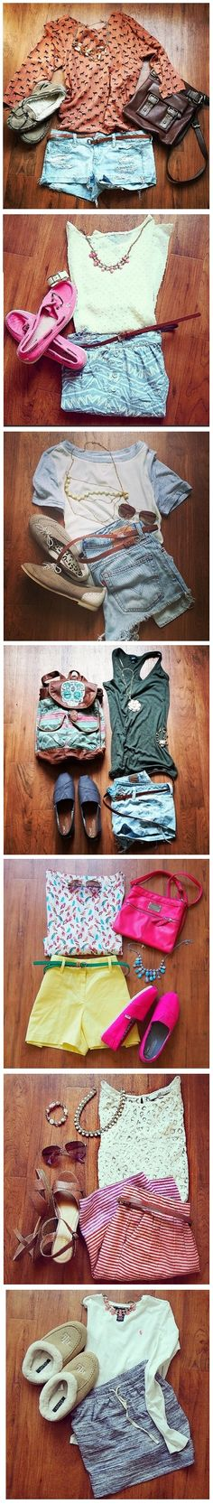 This Week's OOTD ... I could totally do the top outfit with my owl shirt.