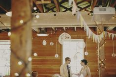 A DIY-filled Vancouver wedding. Pennants, polaroids, + sweet peas, oh my! Photo by @Tomasz Wagner