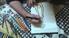 Speed Painting #5 Aspiración (técnica mixta)