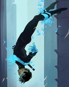 I am Nightwing aka Dick Grayson Nightwing, Batgirl, Batwoman, Arte Dc Comics, Bd Comics, Batman Comics, Batman Art, Batman Robin, Gotham Batman