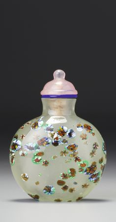A MULTI-COLOURED GLASS SNUFF BOTTLE<br>LATE QING DYNASTY / REPUBLICAN PERIOD | Lot | Sotheby's