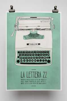 Italian Inventions by Emily Isles, via Behance