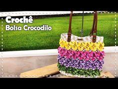 BOLSA CROCODILO EM CROCHÊ com Cristina Luriko - Programa Arte Brasil - 02/08/2017 - YouTube