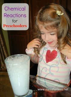 Simple Science - Chemical Reactions for Preschoolers | Mess For Less