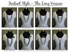 Instant Style - The Long Version  Find me on Facebook for ~PREMIER JEWELRY~ Lori Ann Wilson Remscheid