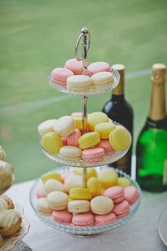 Real Wedding: Ariane and Andy's Afternoon Tea-Themed Wedding in New Zealand High Tea Wedding, Afternoon Tea Wedding, Bear Wedding, Brunch Wedding, Summer Wedding, Pink Green Wedding, Pink Wedding Theme, Pink And Green, Pink Yellow