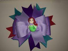 """Prensitas y vinchas Coqueticas. Ariel """"La sirenita"""""""